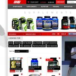 $10 Coupon for Supplements and Sportswear