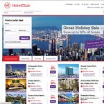 15% Discount Code on Hotelclub.com (Not for Hotel in New Zealand)