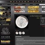 Perth Mint 1oz Silver Kookaburra Coins at $4.29 over Spot (100+)