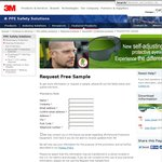 Free SecureFit Protective Eyewear Sample from 3M