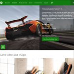 Forza 5 - Xbox One - $59.95 AUD or $41.99 CAD ($41.18 AUD) @ Xbox Store for XBL Gold Members