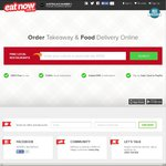 10% off EatNow.com.au (One Time Use Only)