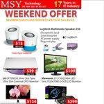 MSY Deals - 2bay NetGear NAS $125, Logitech Z50 Speaker $13, LG IPS Monitor $134 and More