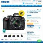 Nikon D3200 with 18-55mm SLK $404 (after $50 Cash Back) Delivered from BING LEE