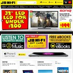 PS4 (Black) + 5 Games $599, PS4 (White) + 5 Games $599 @ JB Hi-Fi