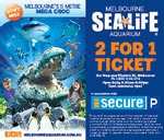 Melbourne Aquarium 2 for 1 Entry