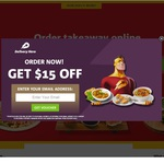Delivery Hero: Get $15 off (Min Spend $20) - App or Web