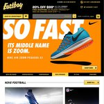 Eastbay - 20% off USD $99+ Orders