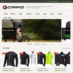 Capo Cycling Apparel - up to 66% off (+ Delivery)