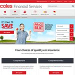 Coles Car Insurance - Pick Your Price