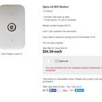 Optus 4G Wi-Fi Modem with 4GB $34.50 Half Price was $69 @ Coles. Starts 25th Nov