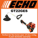 Echo GT22GES Line Trimmer $189 @ Power Equipment Discounters eBay. Usually around $269