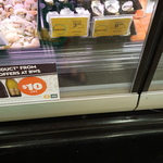 Oysters $3.20 Per 1/2 Doz or $6.39 Per Doz. @ Woolworths Newmarket VIC