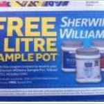 FREE: 1 Litre Pot of Paint @ Masters (Starts 25/2)