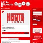 Hoyts Movie E-Voucher 150 Tokens @ Coke Rewards