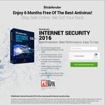 Bitdefender Internet Security 2016 FREE 6 Months License