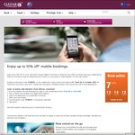 Up to 10% Off Qatar Flights - Coupon Code