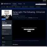 [PS4] Dying Light: The Following - Enhanced Edition $30.95 (Was $84.95) @ AU PSN