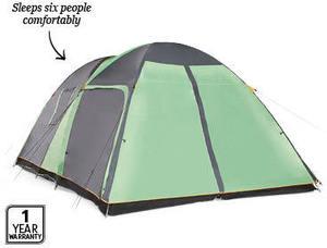 new product eca42 3ed1f ALDI - 6 Person Tent with Screen Room - $139 - OzBargain