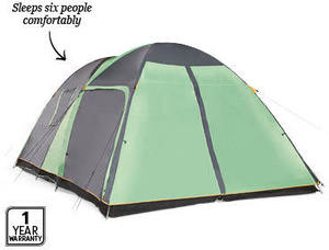 sc 1 st  OzBargain & ALDI - 6 Person Tent with Screen Room - $139 - OzBargain
