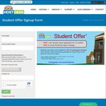 """Free """".com"""" Domain Name Registration for 12 Months + 6 Months WordPress Basic Package for University/College/TAFE Students"""
