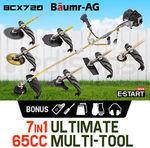 Baumr-AG 65cc Brushcutter Whipper Snipper Trimmer Brush Cutter MultiPole Tool 7 in 1 + Bonus Accessory Kit $143.2 @ Edisons eBay