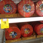 Lindt Lindor Chocolates Limited Edition Assortment 460g Round Tin - $5 @ Coles