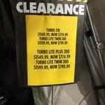50% off BlackWolf Turbo Lite Plus 300 Tent Green 300 $774.99 (was $1549.99) @ Anaconda Morayfield Qld