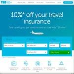 10% off Travel Insurance @Travel Insurance Direct