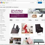 20% off Selected Home and Garden Retailers @ eBay