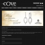 Win a Pair of Hardy Brothers Diamond Earrings Set in 18ct White Gold Worth $10,999 from Cove Magazine/Hardy Brothers