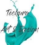 20% off at Techura.com.au - Original Fluid Acrylic Art