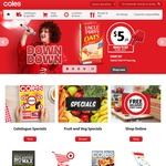 Coles Free Delivery for Orders over $100 Delivered bt 19/6-25/6 Code Stacks with Other Offers VIC and QLD Only