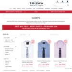 TM Lewin All Shirts $40 Plus Free Delivery over $50