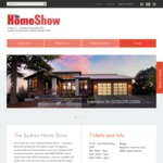 Sydney Home Show Free Tickets