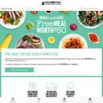 Free $50 Credit for Meals (No Min Spend) @ Aussie Farmers Direct (New Customers)