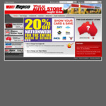 Show Your Motoring Club Card and Save at Any REPCO Store This October and Get 20% off