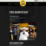 Free Burrito 12PM-7PM, 17/10 @ Guzman Y Gomez (Parramatta, NSW)