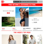 Free Shipping On All Orders @ Uniqlo