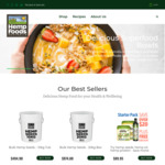 20% off - Hemp Foods Australia Online Store
