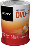 100 Pack Sony DVD-R Disc - $12.49 Shipped @ Sony