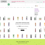 5 Free Minis + Free Shipping with $45 Spend Online @ Clinique