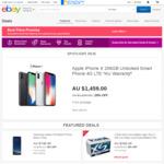 eBay Hot Deals | Apple AirPods $170 | Galaxy S8 $712 | Galaxy S8+ $807 | iPhoneX 64GB $1196 (O/S) | iPhoneX 256GB $1386 (O/S)