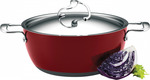 Circulon Style 26cm/5.2L Red Casserole - $49.95 + FREE Shipping (WAS $99.98/RRP $199.95) @ Cookware Brands