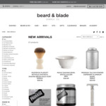 15% off New Beard & Blade Brand Products @ Beard & Blade