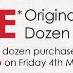 [SA] Free 1 Dozen Original Glazed Donut with Purchase of Any Dozen Donuts from Krispy Kreme Via Uber Eats App