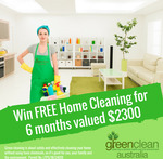 Win 1 of 8 Home Cleaning Packages from Greenclean (Sydney Metro Residents)