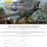 Win a Trip to Universal Studios Hollywood for 4 Worth $12,335 from Seven Network