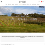 Tractor Shed: Cleanskin Adelaide Hills/McLaren Vale Cabernet Sauvignon 2017 Bottled for Business Class - $99/Doz & Free Shipping