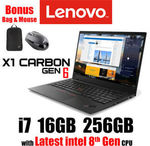 "Lenovo X1 Carbon Gen 6 / 14"" FHD / 8th Gen Intel i7-8550U / 256GB SSD / 16GB RAM @ $2099 or $1,950 (PLUS) Shipped @ OLC eBay"